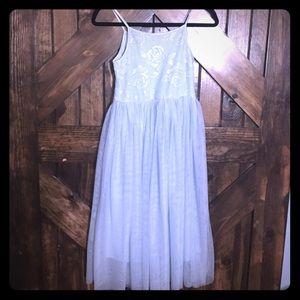 Girls Maxi Tulle Dress